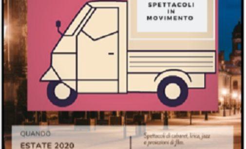 """BAGNARIA 09/07/2020: Dopo il lockdown il Teatro arriva 'a domicilio' a bordo di un'ApeCar. Parte da Bagnaria """"ApeTeatro – Spettacoli in movimento"""""""