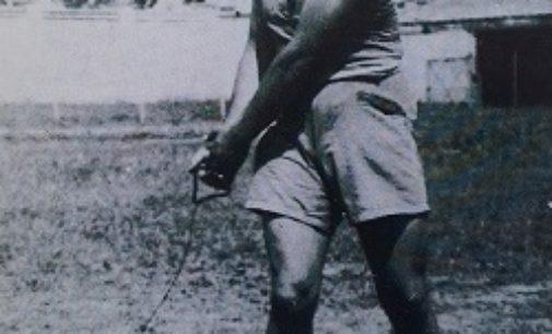 VOGHERA 28/07/2020: Atletica. I protagonisti del passato. Armando Prassoli