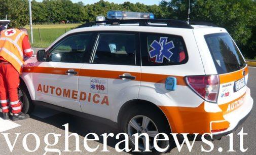 COSTA DE' NOBILI 09/07/2020: Strade. Giovane in moto perde la vita