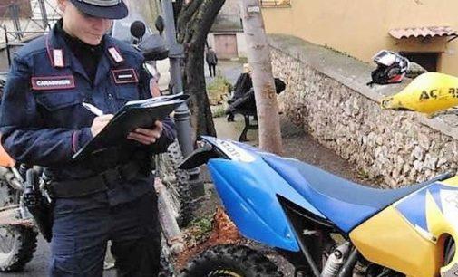 OLTREPO PAVESE 20/07/2020: Moto nei boschi. I carabinieri sanzionano 30 centauri che transitavano su sentieri che sono vietati ai mezzi motorizzati
