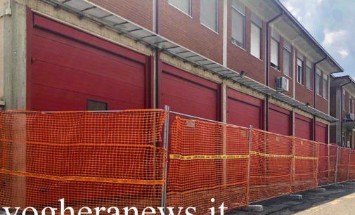 VOGHERA 17/07/2020: La Città antisismica. Cantieri aperti alla caserma dei Vigili del fuoco e in 3 palestre. L'assessore Salerno. Opere del valore di un milione di euro