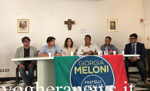 VOGHERA 03/07/2020: Elezioni. Fratelli d'Italia sceglie Vincenzo Giugliano come candidato