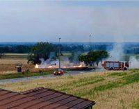 CODEVILLA VOGHERA 02/07/2020: Incendi di campo. Si moltiplicano i casi. Appello alla prudenza