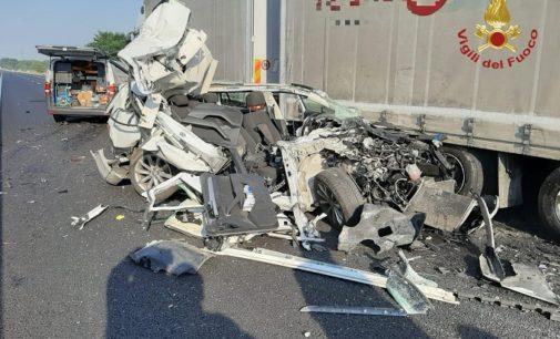 CASTEGGIO BRONI 31/07/2020: Incidenti con feriti oggi sulla A21. Lunghe code in mattinata