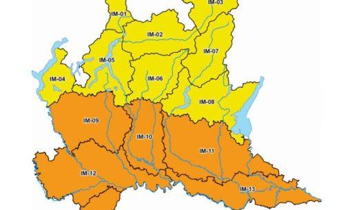 """VOGHERA PAVIA 02/07/2020: Meteo. Allerta """"Arancione"""" e """"Gialla"""" per """"temporali forti"""" e """"dissesto idrogeologico"""" sulla provincia. I Comuni interessati"""