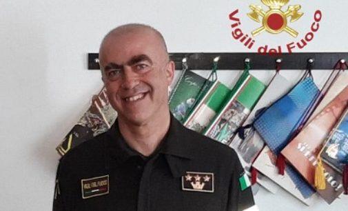PAVIA 02/07/2020: Pier Nicola Dadone è il nuovo comandante provinciale dei Vigili del fuoco