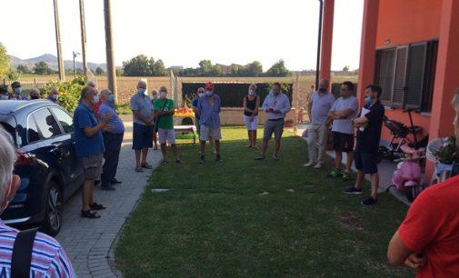 VOGHERA 23/08/2020: Biometano a Campoferro. Il candidato dei 5 Stelle dice No e incontra i residenti della frazione