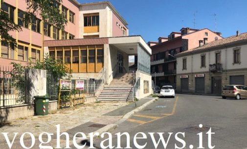 VOGHERA 07/08/2020: Ospedale. Niente parcheggi al posto dell'edificio di via Barenghi. Al suo interno sorgerà la nuova mensa per il personale