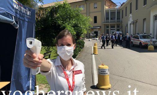 VOGHERA 01/03/2021: Coronavirus. Nuovi contagi. L'ospedale amplia i posti letto Covid in Terapia Intensiva. 71 positivi trovati con i tamponi. 5.200 i vaccinati in provincia