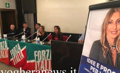 VOGHERA 03/08/2020: Giovani Lavoro Sicurezza Sciale. La candidata sindaco Garlaschelli si è presenta al popolo di Forza Italia
