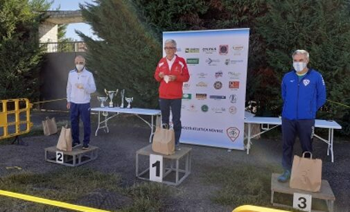 VOGHERA 05/10/2020: Atletica Pavese. Ancora piazzamenti per Macri'