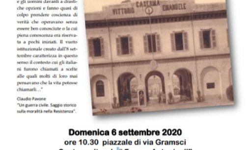 """VOGHERA 04/09/2020: """"8 settembre 1943: il giorno delle scelte"""". Domenica manifestazione di Anpi e Fivl"""