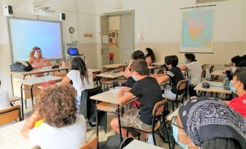 VOGHERA 09/09/2020: Scuola. Prova generale per la ripresa delle lezioni. Tutto ok alla Pascoli nei corsi di recupero