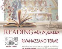 """RIVANAZZANO 16/09/2020: Domenica al ristorante il """"reading letterario"""" del Rotary Club Valle Staffora"""