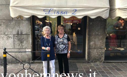 VOGHERA 21/09/2020: Ha fatto la storia del commercio iriense. Chiude l'abbigliamento Lissa 4 Elle
