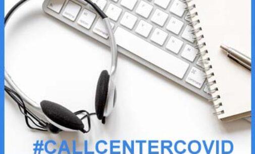 """VOGHERA PAVIA 02/10/2020: Coronavirus. """"0383 4311 (tasto 3)"""". Nasce il """"call center"""" dedicato alle info sull'emergenza Covid. Parte lunedì 5"""