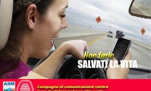 VOGHERA 07/10/2020: Nuova campagna social di Asm. Guida Sicura senza lo Smartphone