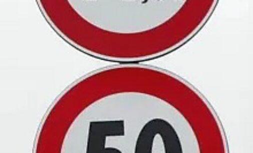BRALLO 07/10/2020: Strade. Dopo il crollo del ponte in Val Trebbia il limite sulla Sp186 scende a 50. Vietati anche i mezzi pesanti