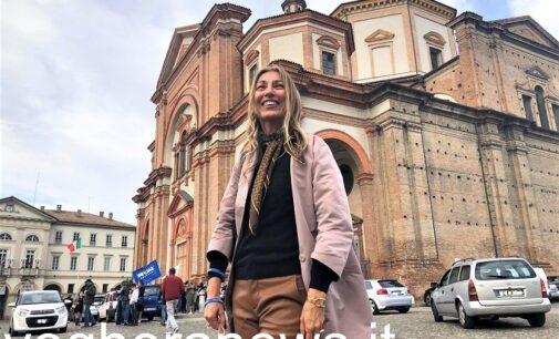 """VOGHERA 05/10/2020: Paola Garlaschelli è sindaco. La prima sindaca donna di Voghera. """"Sarò il sindaco di tutti. Ma senza scordare che sono stata eletta con i voti dei miei sostenitori"""""""