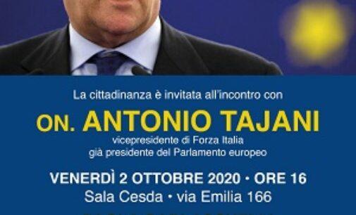 VOGHERA 02/10/2020: Elezioni Ballottaggio. Garlaschelli chiude la campagna con Tajani di FI
