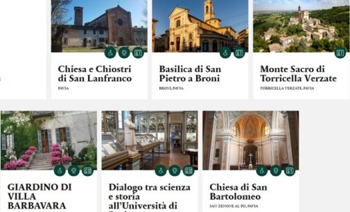 PAVIA OLTREPO 14/10/2020: Giornate Fai d'Autunno. Eccezionale doppio appuntamento. Ecco i luoghi visitabili il 17-18 e il 24-25 ottobre