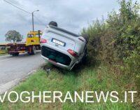 PIZZALE 16/10/2020: Scontro con la bisarca. L'auto di ribalta. Due i feriti