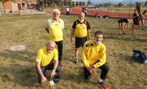VOGHERA 12/10/2020: Atletica. Sabato al Campo Giovani l'allenamento controllato dell'Us Scalo