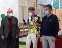 VOGHERA 15/11/2020: Scuola. Sport. L'alunno Davide Coscia conquista la medaglia d'argento ai campionati nazionali juniores di bocce