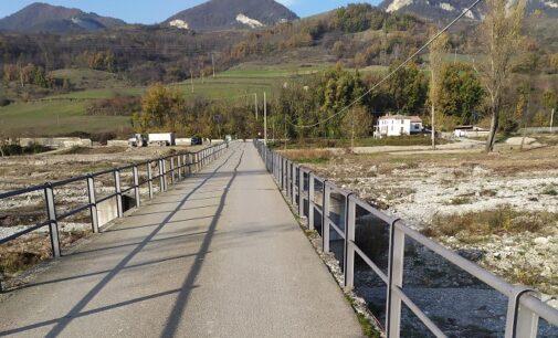 BAGNARIA 13/11/2020: Ponte sul torrente Staffora per Casa Galeotti. Via ai lavori per salvarlo
