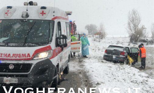 VOGHERA OLTREPO 4/12/2020: Maltempo. Disagi blocchi e incidenti a seguito della copiosa nevicata