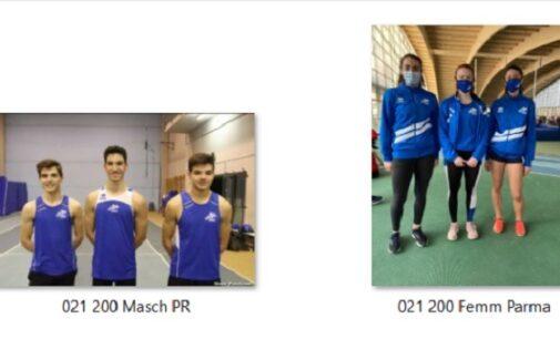 VOGHERA 25/01/2021: Atletica. Seconda gara indoor con ottimi crono per i giovani dell'Iriense