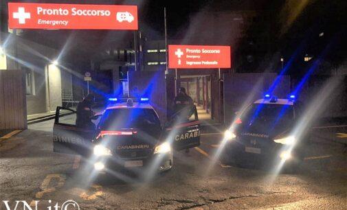 VOGHERA 07/01/2021: Spaccata all'ospedale per rubare l'incasso del bar. I Carabinieri arrestano un giovane