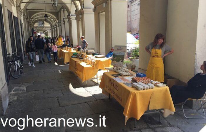 """VOGHERA 22/01/2021: Domenica insieme al mercato di 'Campagna Amica' la """"spesa sospesa"""" dai contadini. In piazza Duomo"""