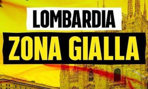 """PAVIA VOGHERA OLTREPO 19/02/2021: La Lombardia resta in """"zona gialla"""". Ecco le regole"""
