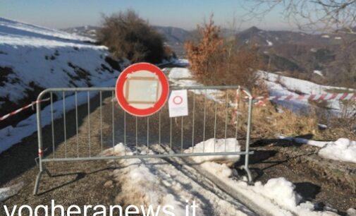PONTE NIZZA 25/01/2021: Frana sulla strada da Ponte Nizza per Pizzocorno. Bloccata la Sp137