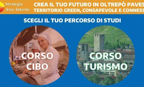 """VARZI 13/01/2021: """"Cibo"""" e """"Turismo"""". All'Ipsia Calvi due corsi gratuiti. Ultimi giorni per iscriversi"""