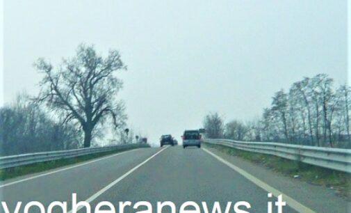 VOGHERA 20/01/2021: Tangenziale. Il tratto Campoferro-Montebello resta ad alto rischio. Conformazione buche e manovre scorrette lo rendono molto insicuro