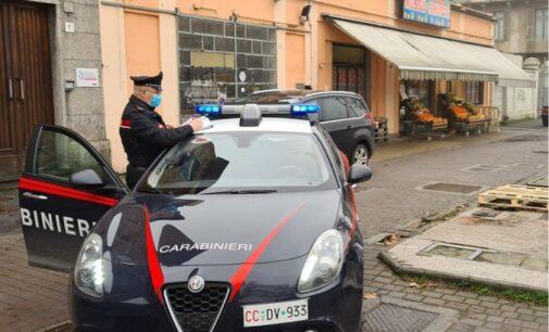 VOGHERA 06/02/2021: Tenta il furto dal fruttivendolo. Preso e denunciato dai Carabinieri un 30enne