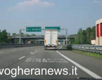 BEREGUARDO BINASCO MILANO 06/05/2021: Strade. Per lavori di manutenzione chiusura notturna Sabato sulla A7 Milano-Serravalle