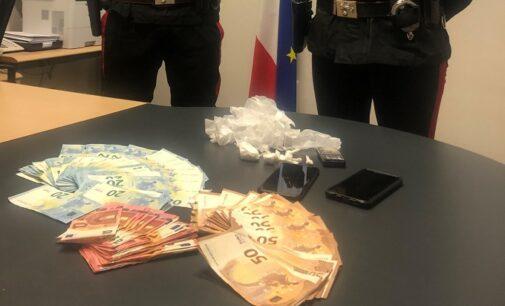 VOGHERA 02/02/2021: Spaccia cocaina in città. Carabinieri arrestano 35enne
