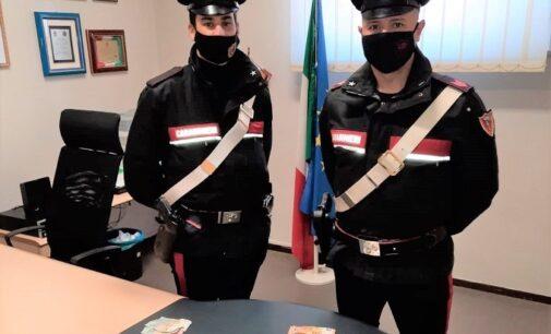 VOGHERA 27/02/2021: Spacciavano cocaina. Un uomo e donna arrestati dopo un inseguimento