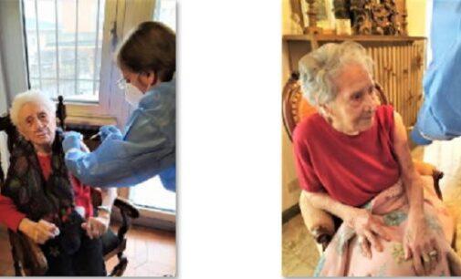 PAVIA VOGHERA 18/02/2021: Partita la vaccinazione anti Covid degli over 80. In provincia è partito anche il progetto sperimentale delle vaccinazioni fatte dai Medici di famiglia