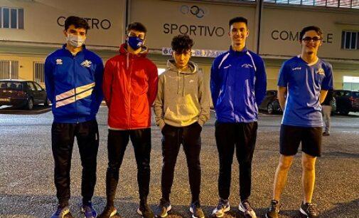 VOGHERA 08/02/2021: Atletica. I giovani dell'Iriense impegnati nelle gare indoor. Record personale per Kimberly Zella