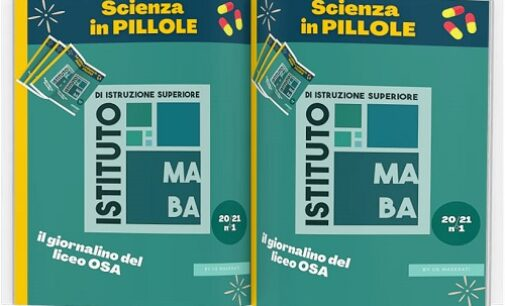 """VOGHERA 23/02/2021: Scuola. Al Maserati una redazione edita un """"giornalino scientifico"""". Si intitola """"Scienza in pillole"""""""