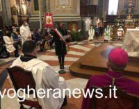 """VOGHERA 08/02/2021: Nuovi Parroci. La sindaca Garlaschelli. """"Lavoriamo insieme per """"il bene comune"""". Grazie monsignor Captini e don Verri"""