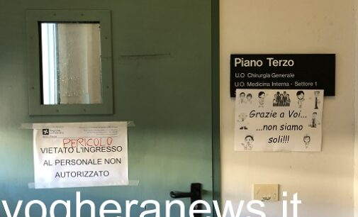 VOGHERA 02/02/2021: Coronavirus. Servono meno posti in ospedale. A Voghera i posti letto Covid disponibili scendono a 64