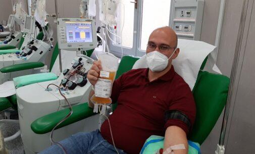 """PAVIA 22/02/2021: Coronavirus. Infermiere del San Matteo dona per 6 volte il suo plasma """"iperimmune"""""""