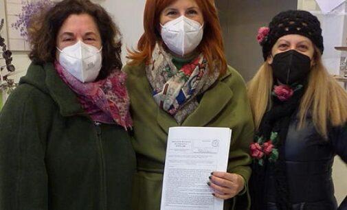 VOGHERA 16/02/2021: Progetto di legge contro la propaganda Fascista e Nazista. Raccolte in città le firme