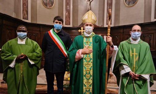 VARZI 04/02/2021: Cambio in parrocchia. Don Vernetti va a Stradella. Arrivano don Favaretto e a don Niyonkuru. Il saluto del sindaco Palli