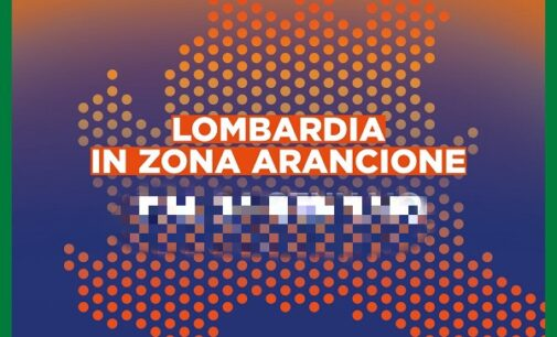 """VOGHERA PAVIA 01/03/2021. La Lombardia da oggi è in """"Zona Arancione"""""""